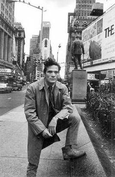 pier paolo pasolini, new york, 1966.
