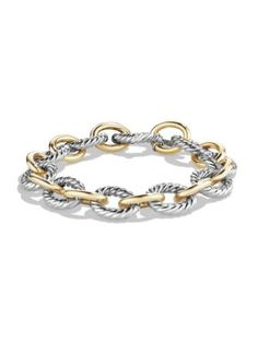 David Yurman gold with silver link bracelet. Barley used it is in perfect condition, comes with pouch and it's long. Silver Bracelets, Bracelets For Men, Link Bracelets, Silver Jewelry, Jewelry Bracelets, Jewellery, Silver Earrings, Man Bracelet, Earrings Uk