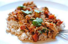 Indian-Spiced Braised Chicken