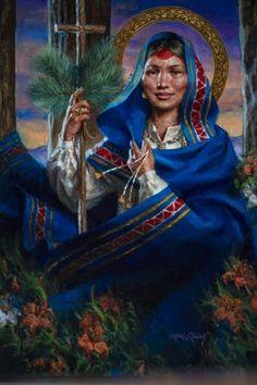 Kateri Tekakwitha Becomes First American Indian Saint
