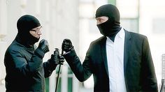Reese and Finch Mighty Fistbump: Person of Interest
