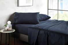400tc Soft Sateen Sheet Set Bed Sheets, Bedroom Bed, Master Bedroom, Bedrooms, When You Sleep, Linen Bedding, Bed Linen, Good Night Sleep