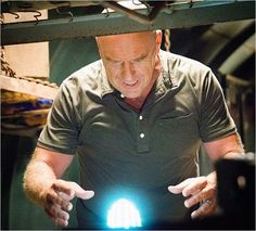 Dean Norris as Big Jim, Under The Dome Season 2.