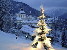 Schnee in Weihnachten