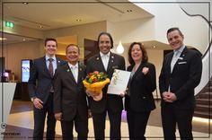 Freitagsfreudentaumel - Wir zelebrieren heute ein ganz besonderes Jubiläum. Khalid Stückler ist bereits seit 20 Jahren für unser Unternehmen tätig. Stets engagiert unseren Gästen die schönsten Ecken von München zu zeigen. Wir danken dir für diene Treue und wünschen dir auch weiterhin noch viel Freude in unserem schönen Haus! Auf die nächsten 20 Jahre lieber Khalid! :)   #SheratonMunich #BetterWhenShared #Anniversary