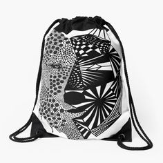 Drawstring Backpack, Backpacks, Fashion, Geometric Fashion, Sacks, Drawstring Bags, Hooded Sweatshirts, Products, Bags