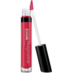 bareMinerals Marvelous Moxie Lipgloss, High Roller 0.15 oz (4.4 ml) (24 AUD) found on Polyvore featuring beauty products, makeup, lip makeup, lip gloss, beauty, lips, lipstick, fillers, bare escentuals lip gloss and moisturizing lip gloss