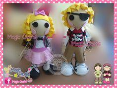 Magic Crafts: ★ Lalaloopsy Fofuchas ★