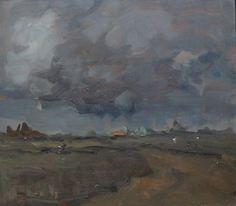 Jan Costerus - Wolken boven het Groninger Hoge Land.