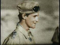 Hans-Joachim Marseille, Luftwaffe fighter ace, and the song he played over and over again.  He was such a stitch....  :-)