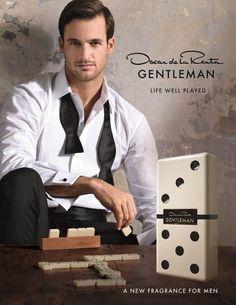 Oscar de la Renta Gentleman poster