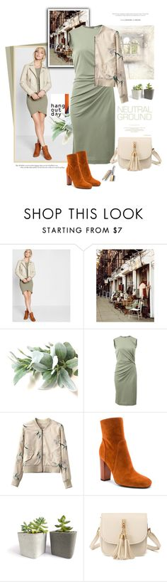 """""""Neutral ground"""" by jan31 ❤ liked on Polyvore featuring Express, WALL, Givenchy, 10 Crosby Derek Lam and Burberry"""