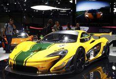 McLaren P14 Precio: desconocido Potencia: 3.8 litros twin turbo V-8. Fecha de lanzamiento: 2016