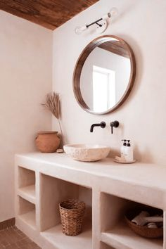 Agave Suite at Posada by the Joshua Tree House - Nature lodges for Rent in Tucson, Arizona, United States Decor, Spanish Style Bathrooms, Interior, Bathroom Styling, Home Decor, House Interior, Bathrooms Remodel, Bathroom Decor, Bathroom Inspiration