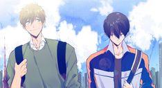 Makoto Tachibana, Makoharu, Haru And Makoto, Free Iwatobi Swim Club, Anime Boyfriend, Anime Ships, Anime Love, Manhwa, Swimming