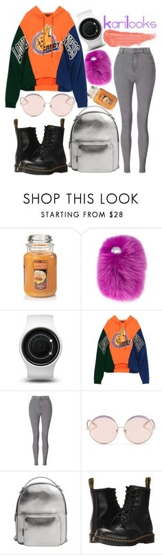"""""""Untitled #285"""" by karilooks ❤ liked on Polyvore featuring Yankee Candle, Wild & Woolly, ZIIIRO, Miss Selfridge, N°21, MANGO, Dr. Martens and By Terry"""