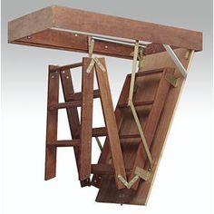 Escada de sótão retrátil
