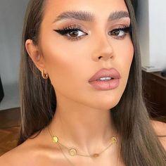 Trendy natural makeup ideas with simple eyeliner Nude Makeup, Kiss Makeup, Glam Makeup, Eyeshadow Makeup, Bridal Makeup, Hair Makeup, Makeup Younique, Younique Eyeshadow, Vogue Makeup
