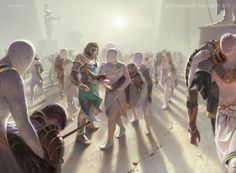 ArtStation - Anointed Procession, Victor Adame