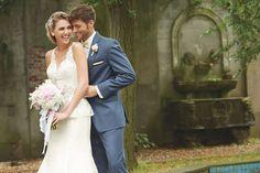 Allure Bridals: Slate Blue Notch