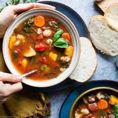 Homemade Crockpot Vegetable Soup