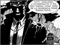Dylan Dog .. Citazione frase fumetto vignetta ..
