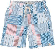 Hatley Woven Shorts (Toddler/Kid) - Madras Plaid-8