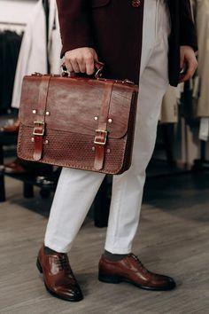 Briefcase For Men, Leather Briefcase, Vintage Leather Messenger Bag, Leather Bag Design, Ipad Bag, Leather Shoulder Bag, Shoulder Strap, Casual Bags, Cloth Bags