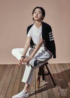 Kim Go Eun by Shin Sun Hye for Instyle Korea March 2015. See by Chloé.:
