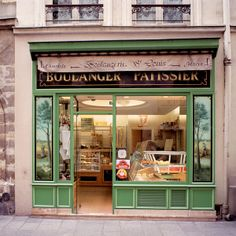 Boulangerie- Paris(Ile Ste. Louis), France - our favorite bakery. We rented an apartment above this beautiful bakery. ❤