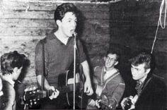 "The Beatles Quarrymen at the Casbah Print Large 8.5 x 11/"""