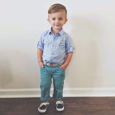 Baby boy fashion via sarahknuth on Instagram.