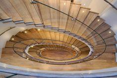 San Francisco Home // Architectural Digest San Francisco Mansions, San Francisco Houses, Architectural Elements, Architectural Digest, Architecture Details, Interior Architecture, Interior Design, Stair Well, Lotus Design