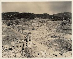 The lost photographs from Hiroshima. August, 1945 Re-Pinned by HistorySimulation.com