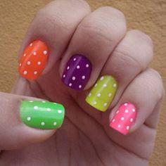 Easy Cute Nail Polish Designs www.trendsnail.com