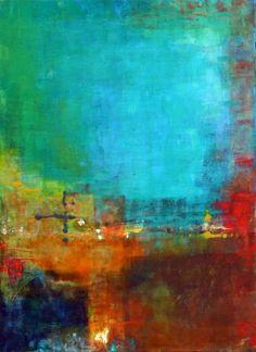 "Saatchi Online Artist: Ana Elisa Benavent; Acrylic, 2012, Painting ""Persistence or Stubbornness?"""