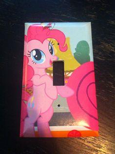My Little Pony Pinkie Pie Light Switch Plate