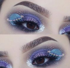 SPACE PRINCESS    for the glitter obsessed. Tag a friend who would love this! Shop glitters link in bio. Fabulous Rtist: @superduperdaisy #glitterrealm