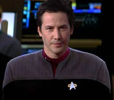 Isn't this a great photomanip of Keanu Reeves? I write him as a colony alien.