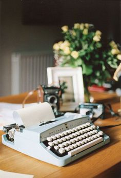 The obsession with vintage typewriters continues! Image Via: Britta Nickel