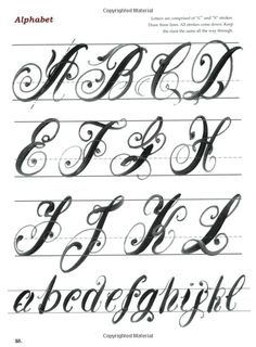 A guide to painting letters - part 1 from Sigmund Aarseth's Rosemaling Design