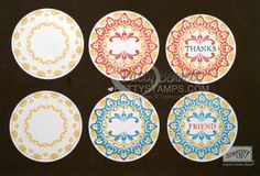 More tips for using the Make a Medallion stamp set