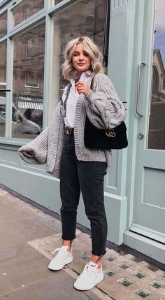 Casual Winter Outfits, Winter Fashion Outfits, Spring Outfits, Trendy Outfits, Black Jeans Outfit Winter, Winter Night Outfit, Winter Outfits 2019, Autumn Outfits, Hipster Outfits