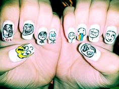Funny Nail Arts