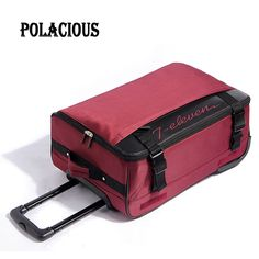 59.43$  Watch now - http://alish9.worldwells.pw/go.php?t=32703026659 - 2016 Hot sales can be folded polyester trolley suitcase/Facilitate the storage of trolley luggage/men&women Universal Travel Bag