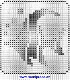 Diy_Crafts-Marine world, fishs, free cross stitch patterns and charts - www. Filet Crochet, Punto Red Crochet, Crochet Fish, Crochet Cross, Crochet Chart, Crochet Stitches, Cross Stitch Sea, Cross Stitch Animals, Cross Stitch Charts