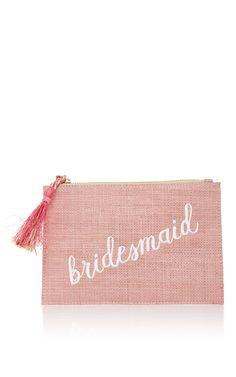 Bridesmaid Confetti Pouch by KAYU for Preorder on Moda Operandi
