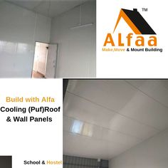 Puf Panel – Alfa is the leading manufacturers and suppliers of insulated sandwich puf panels in Bangalore, Chennai, Pune, Hyderabad, Kochi & Ahmedabad. Tile Floor, School, Wall, Projects, Tile Flooring, Tile Projects
