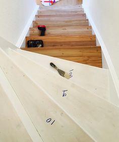 Traprenovatie van een dichte trap, massief teakhout (treden bekleed). > wortman meubelen Stairs, Home Decor, Stairway, Decoration Home, Staircases, Room Decor, Stairways, Interior Design, Home Interiors