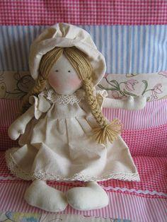 muñeca capelina cruda Stuffed Animals, Doll Toys, Baby Dolls, Sewing Dolls, Hello Dolly, Soft Dolls, Baby Crafts, Fabric Dolls, Beautiful Dolls
